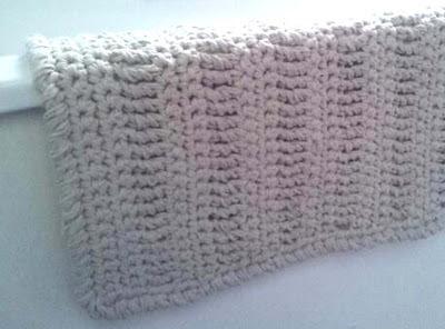 Crochet Bath Mat, Crochet Rug