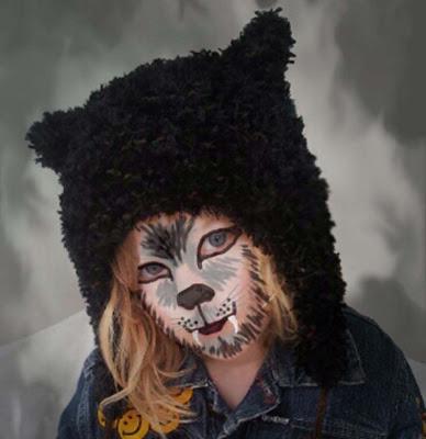 Werewolf hat, Knitted werewolf hat, Werewolf Hat Pattern