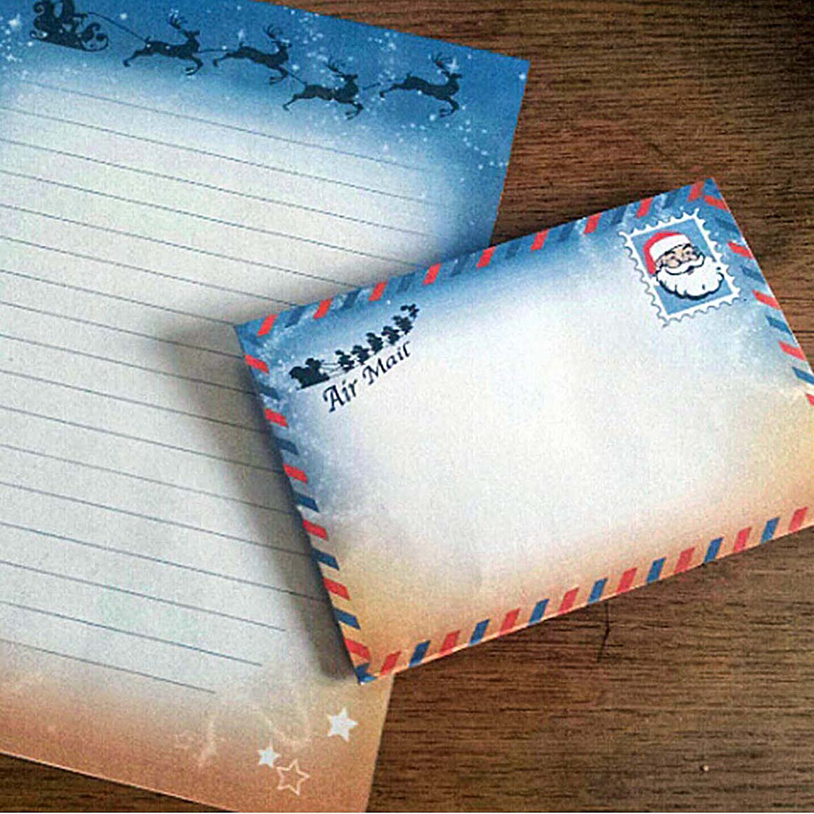 Santa Letter, A Letter to Father Christmas, Free Printable